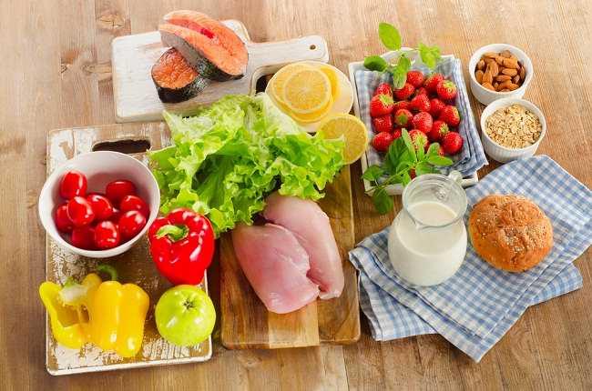 Makanan sehat dan mengandung gizi seimbang