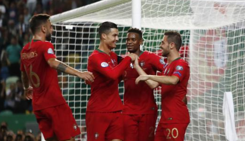 Hasil Pertandingan Portugal vs Luksemburg 3-0